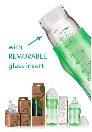 5 Phases Hybrid Glass Bottles