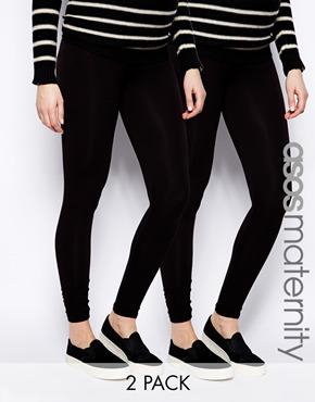 ASOS Maternity Full Length Legging in Soft Touch