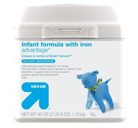 Target up & up Advantage Infant Formula
