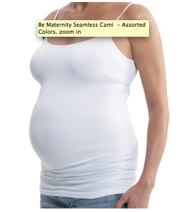 Be Maternity Seamless Cami