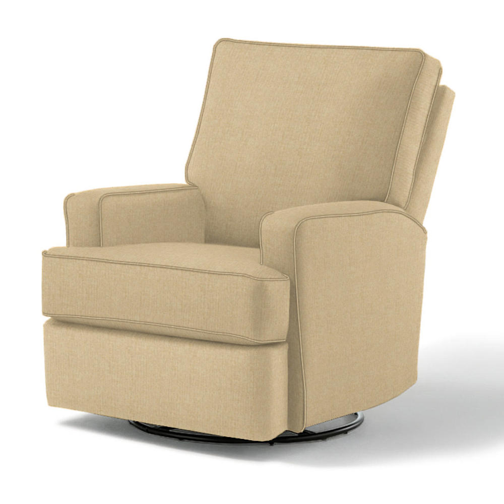 Best Chairs Kersey Upholstered Swivel Reclining Glider
