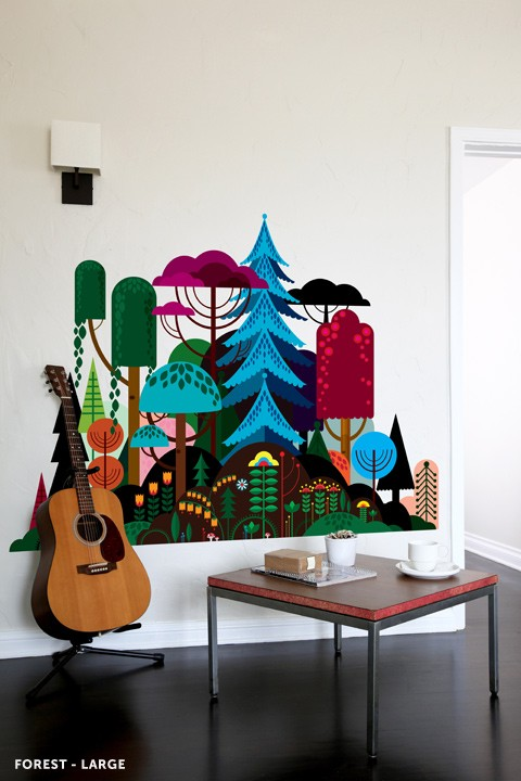 Blik Imaginary Forest Wall Decal