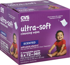 Ultra-Soft Wipes