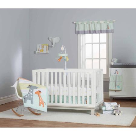 Carter's Child of Mine Giraffe Family 3 piece crib set