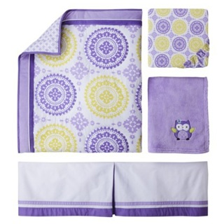 Circo 4pc Crib Bedding Set