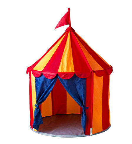 CIRKUSTÃLT Children's Tent From Ikea