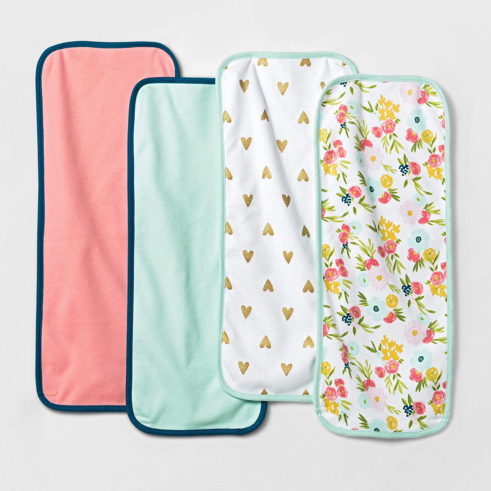 Cloud Island Burp Cloths