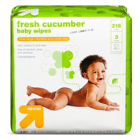 up&up Cucumber Baby Wipes
