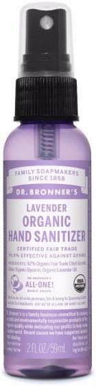 Dr Bronner's Organic Hand Sanitizer