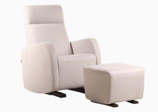 Dutailier Etna Upholstered Glider