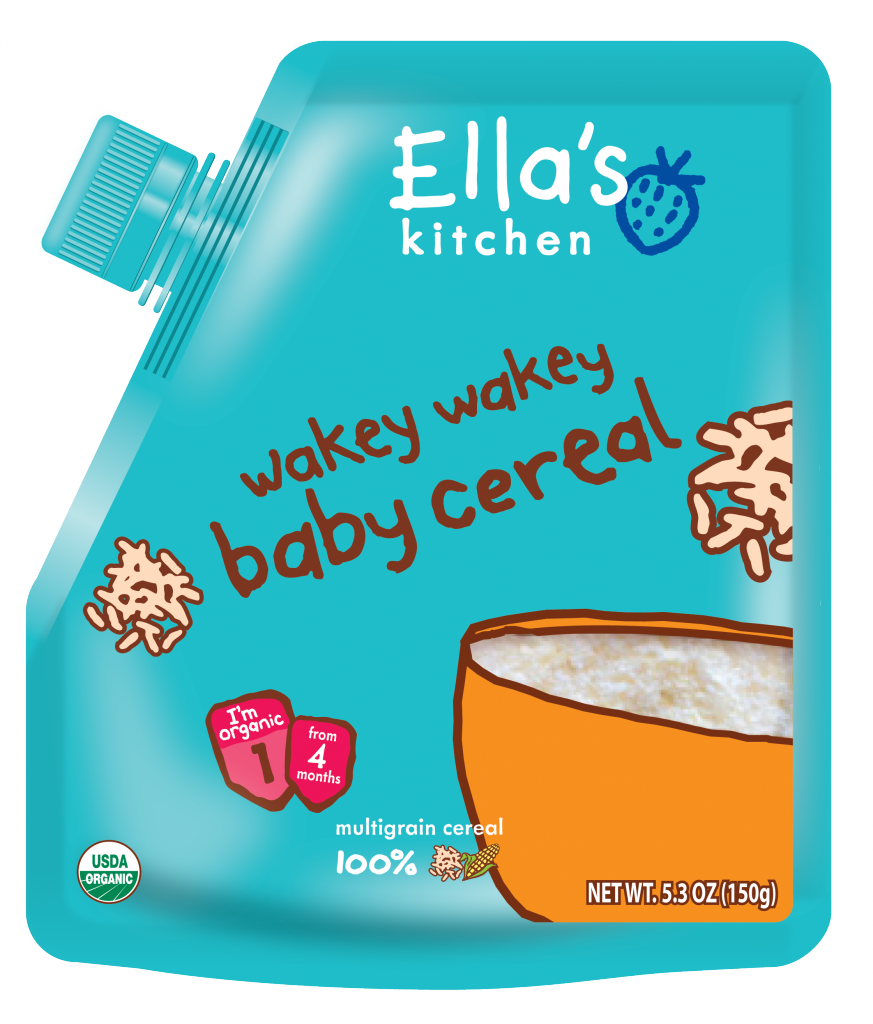Ella's Kitchen Wakey Wakey Baby Cereal