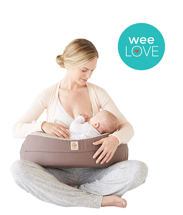 ERGObaby Natural Curve Nursing Pillow