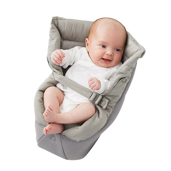 ErgoBaby Insert- Grey Performance Cool Mesh