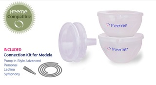 Freemie Breastmilk Collection Cups