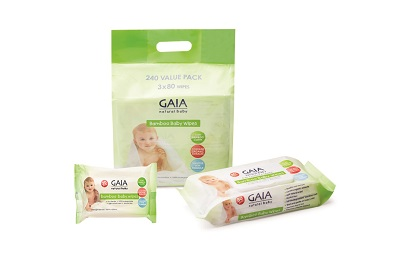Gaia Baby Wipes