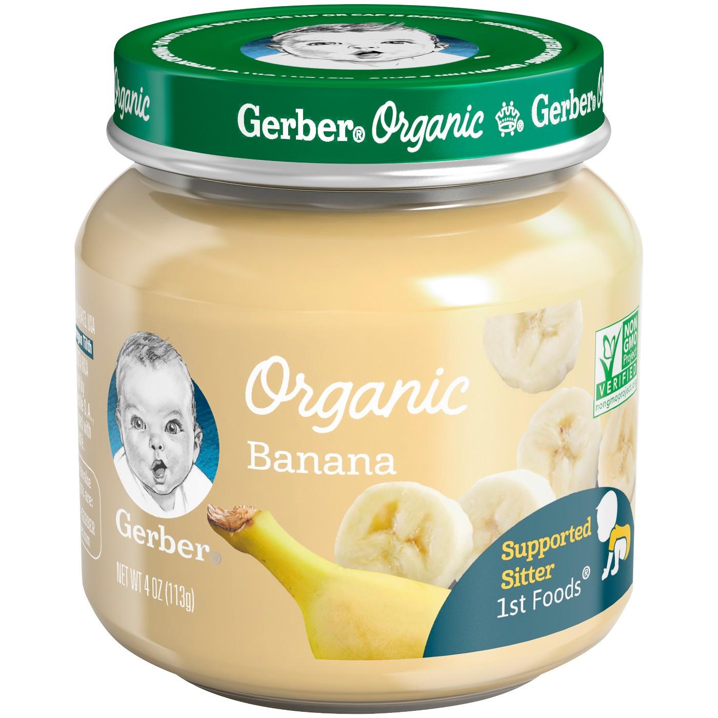 Gerber Baby Organic 1st Foods