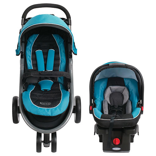 Graco Aire3 Click Connect Travel System Stroller