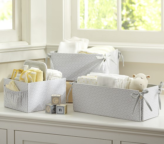 Gray Geo Nursery Storage