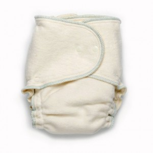Growing Greens One-Size Fitted Diaper