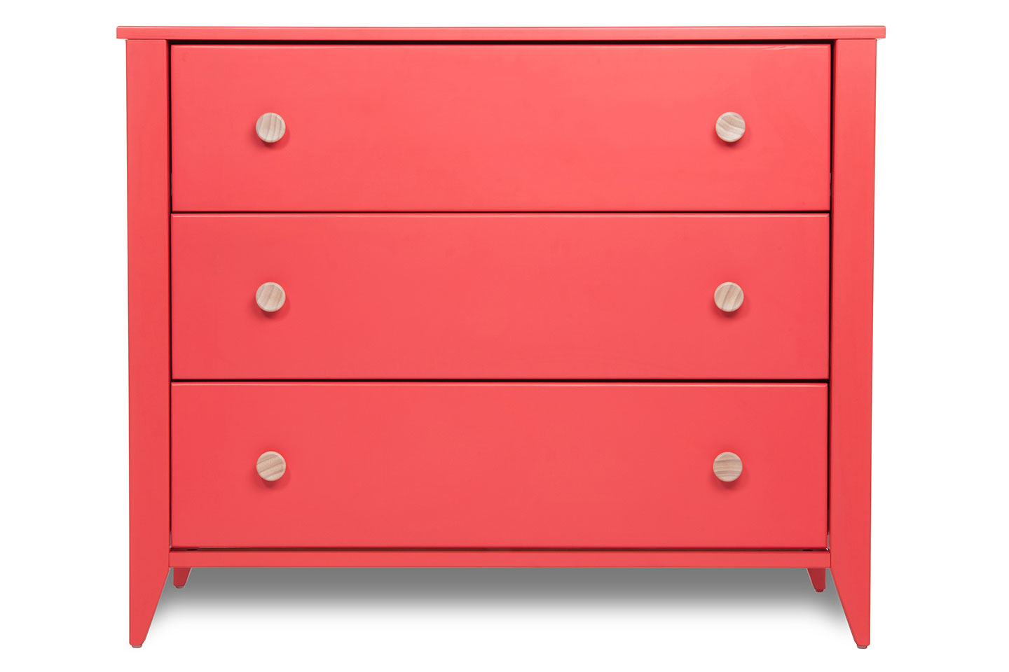 Honest Dresser With Changer Top (Coral)