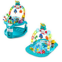 Baby Einstein 2-in-1 Lights & Sea Activity Gym and Saucer