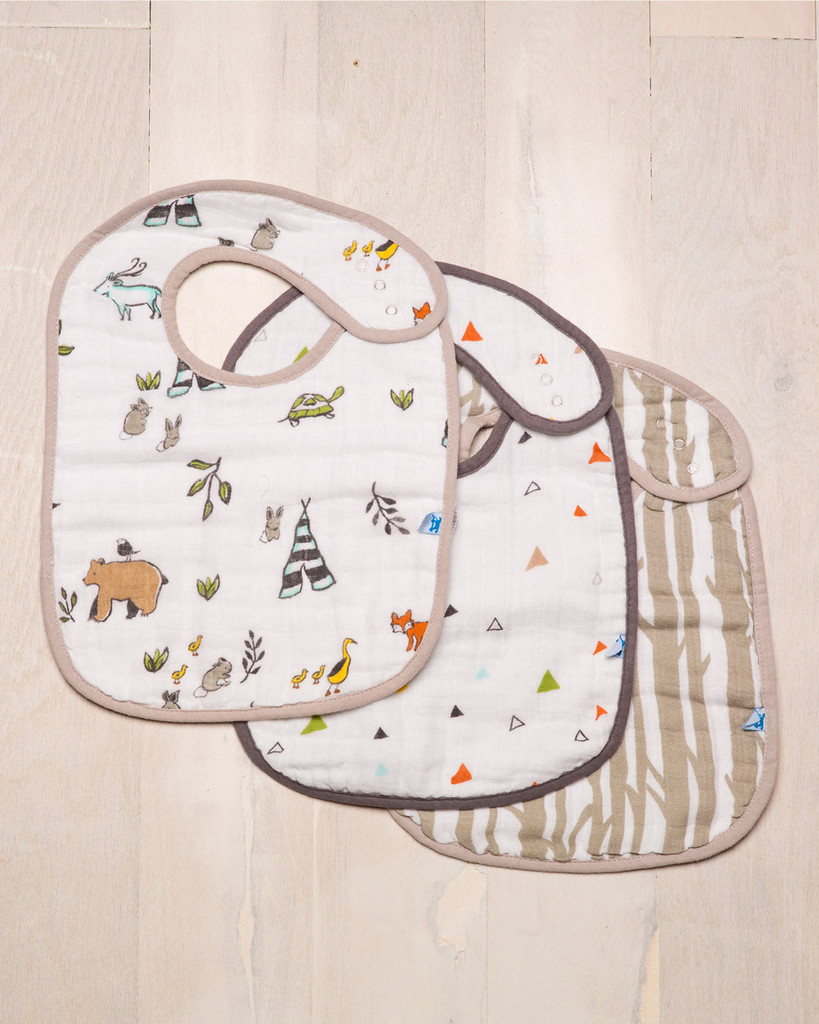 Little Unicorn Cotton Classic Bibs