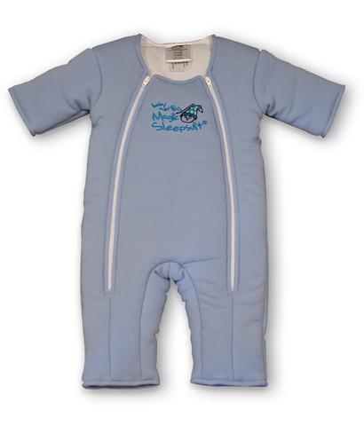 Blue Cotton Magic Sleepsuit