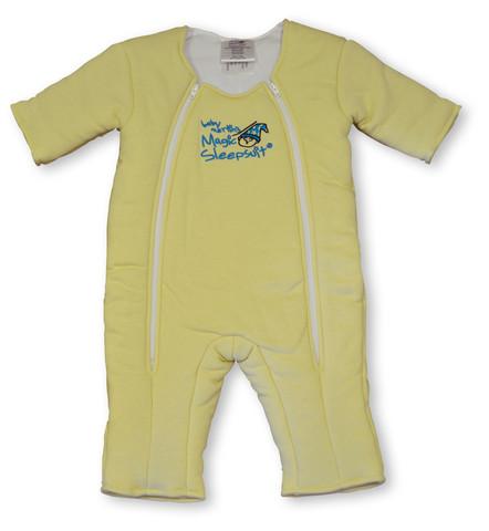 Yellow Cotton Magic Sleepsuit
