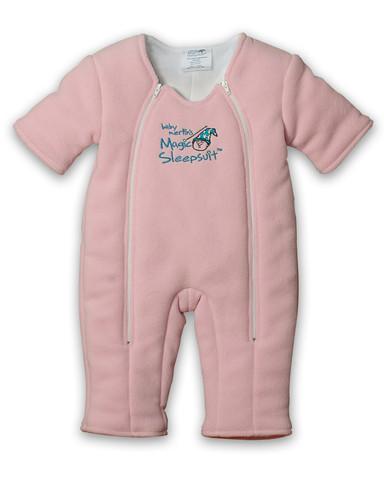 Pink Microfleece Magic Sleepsuit