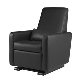 Monte Design Leather Grano Glider Recliner