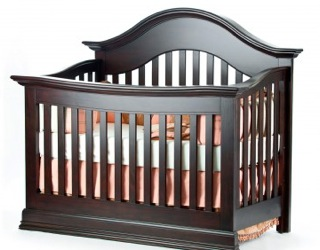 Munire Capri Lifetime Convertible Crib