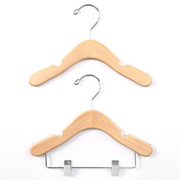Baby-Infant Non-Slip Wood Hangers