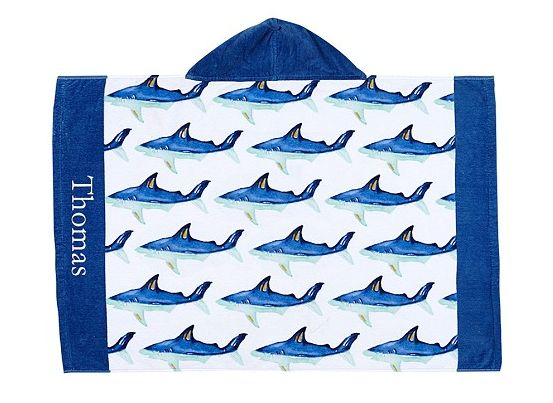 Pottery Barn Kids Hooded Pool Towel
