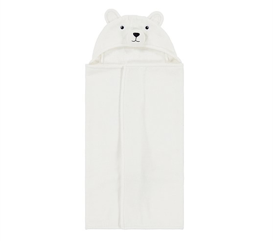 Pottery Barn Nursery Winter Wraps Towel
