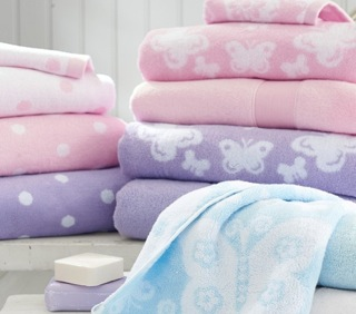 Pottery Barn Kids Bath Towels