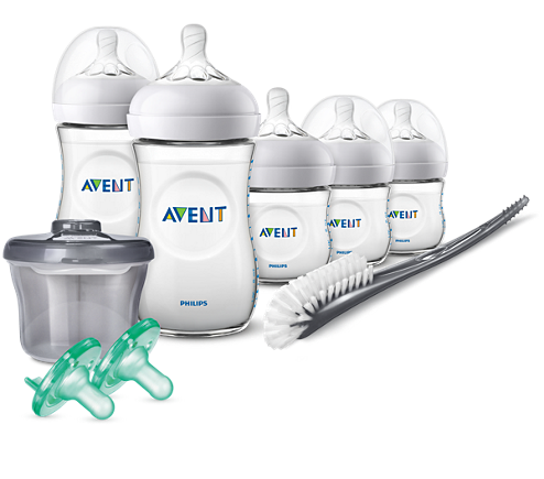 Philips Avent Natural Baby Bottle Infant Starter Set