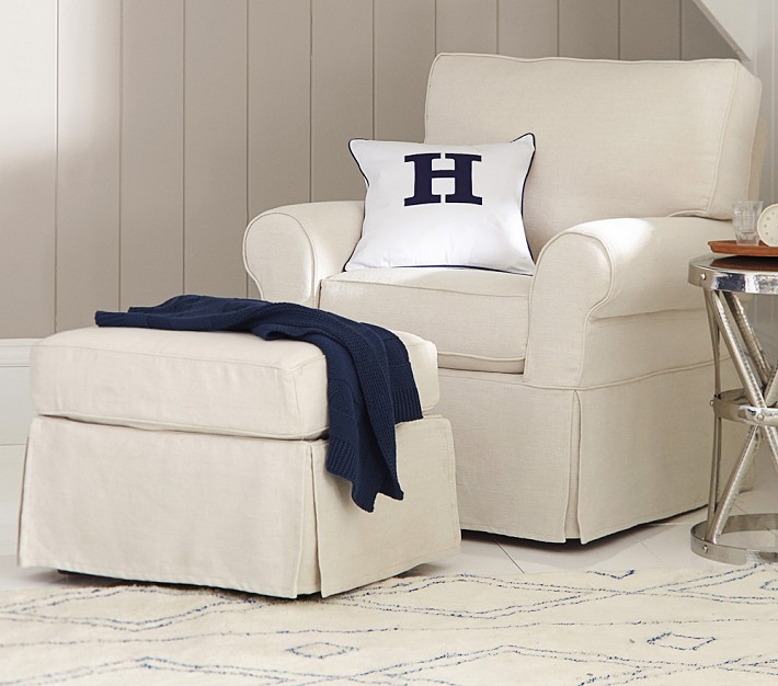 Pottery Barn Small Slipcovered Rocker