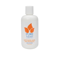 Pure Haven Essentials Kids Body Wash and Shampoo