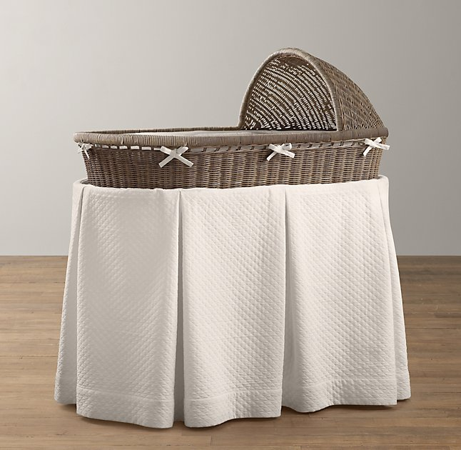 Restoration Hardware Heirloom Bassinet