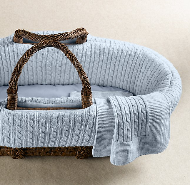 Restoration Hardware Moses Basket