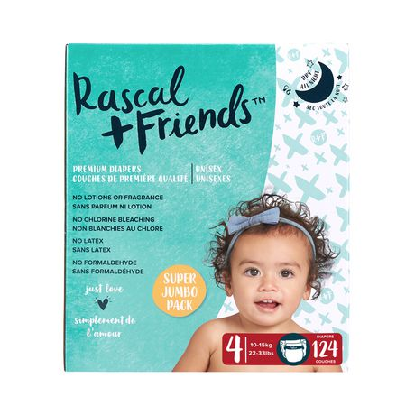 Rascal + Friends Diapers