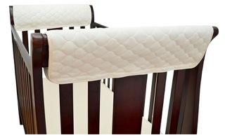 TL Care Organic Cotton Crib Rail Cover