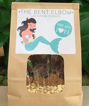 The Bent Elbow Lactation Cookies
