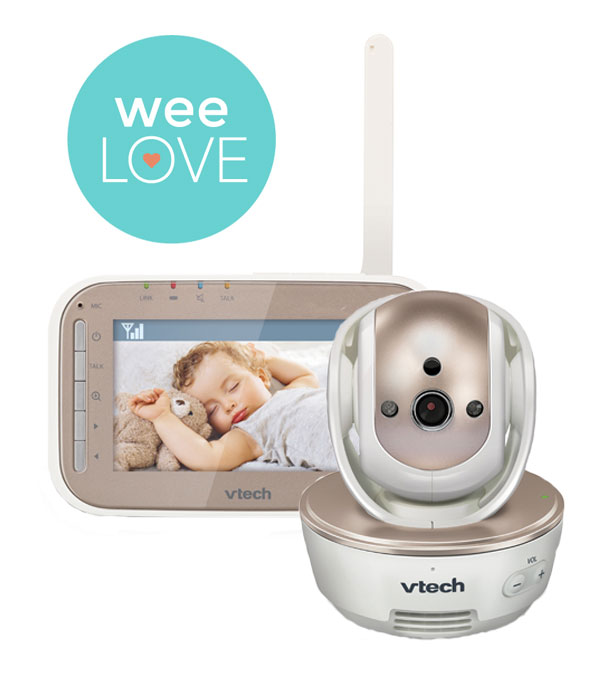 VTech VM343 Safe&Sound Pan & Tilt full color video monitor