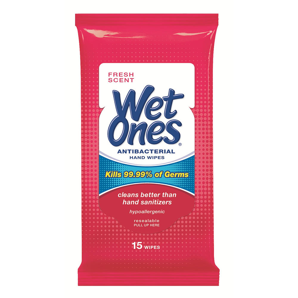 Wet Ones Antibacterial Wipes
