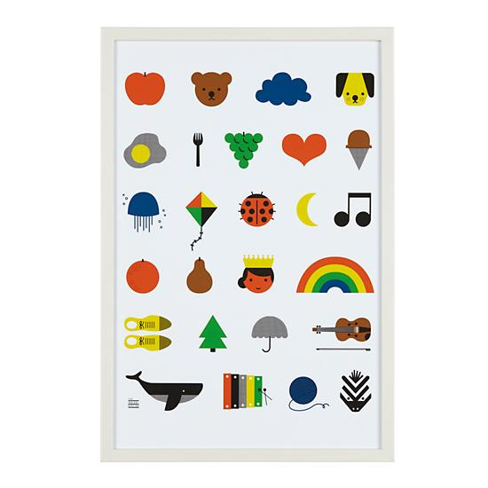 Land of Nod A-Z Wall Art