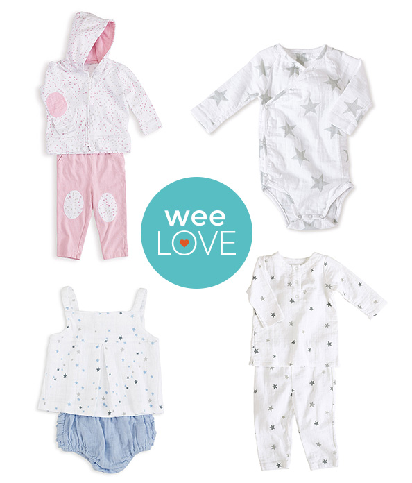 aden + anais layette set