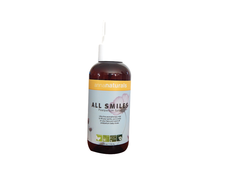 Anna Naturals All Smiles Naturally Uplifting Spray