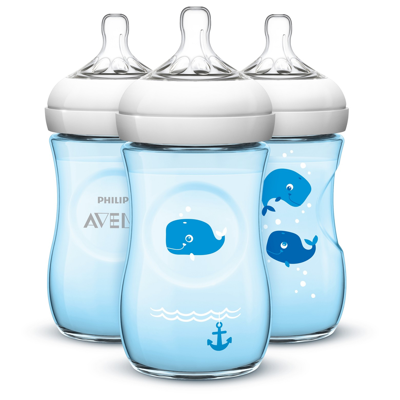 Philips AVENT Natural Baby Bottle with Animal Designs