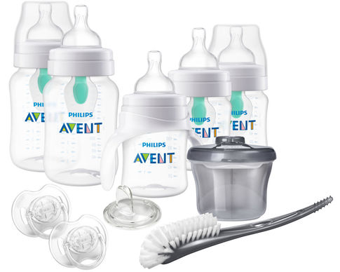 Philips Avent Anti-colic bottle with AirFree Vent Newborn Starter Set